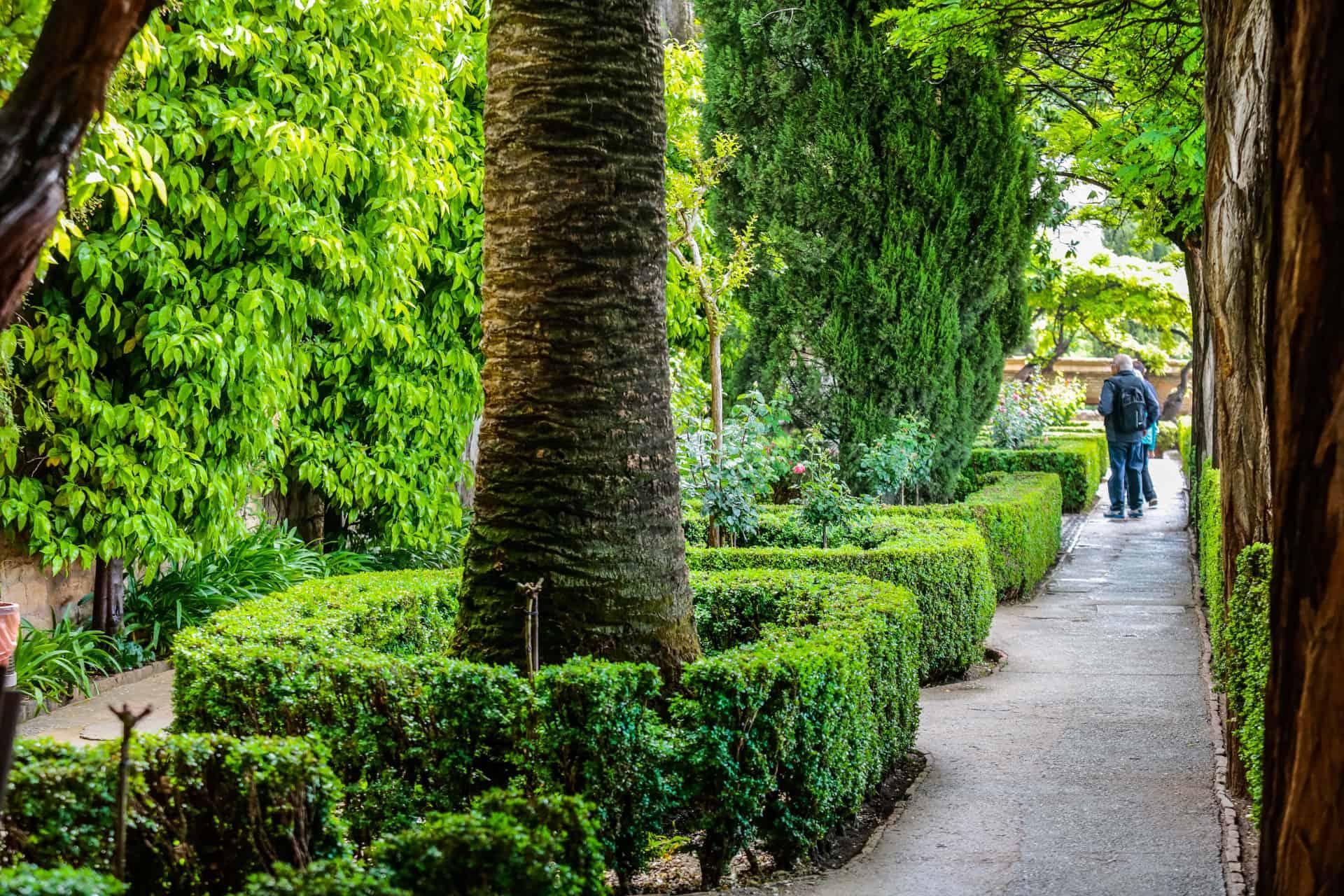 Jardín de los Adarves