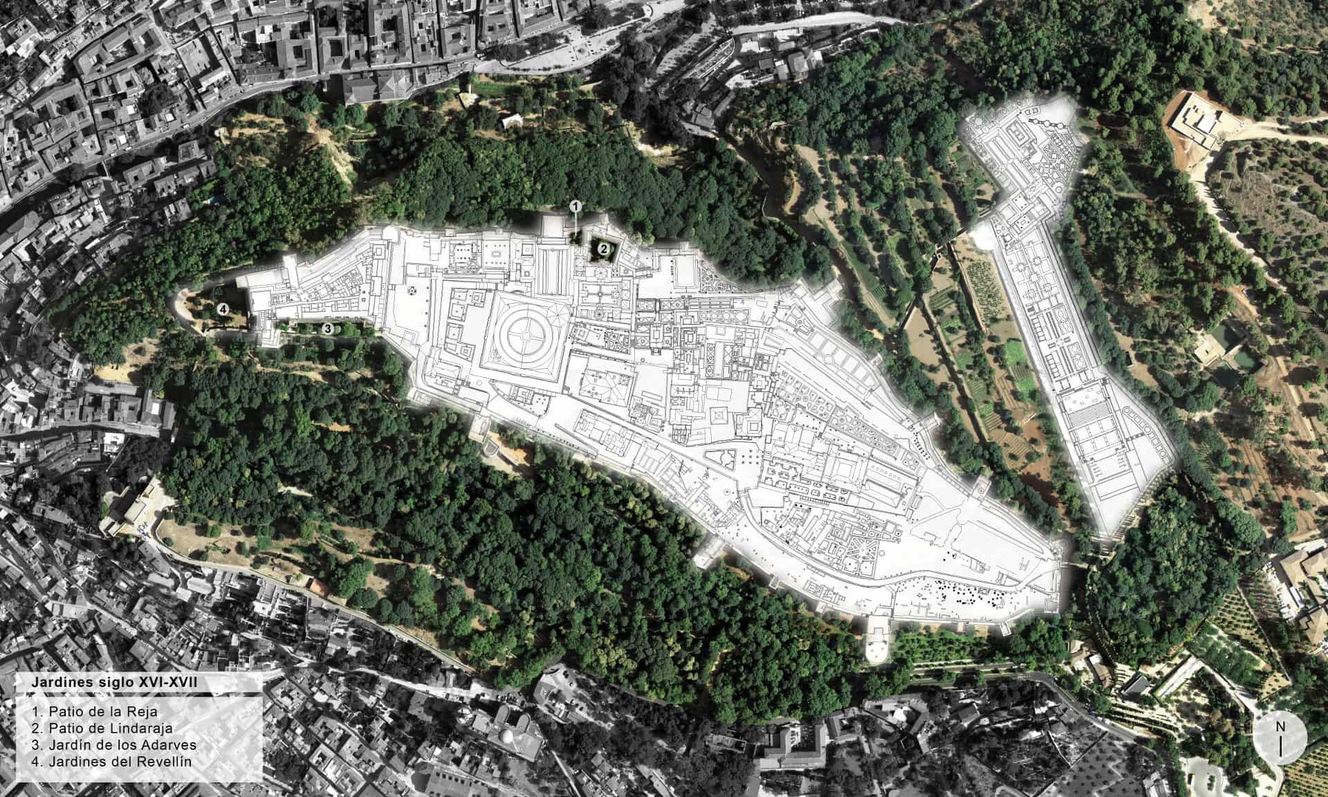 Durante los siglos XVI-XVII, podemos localizar los jardines renacentistas en los que destaca la geometría y el orden.